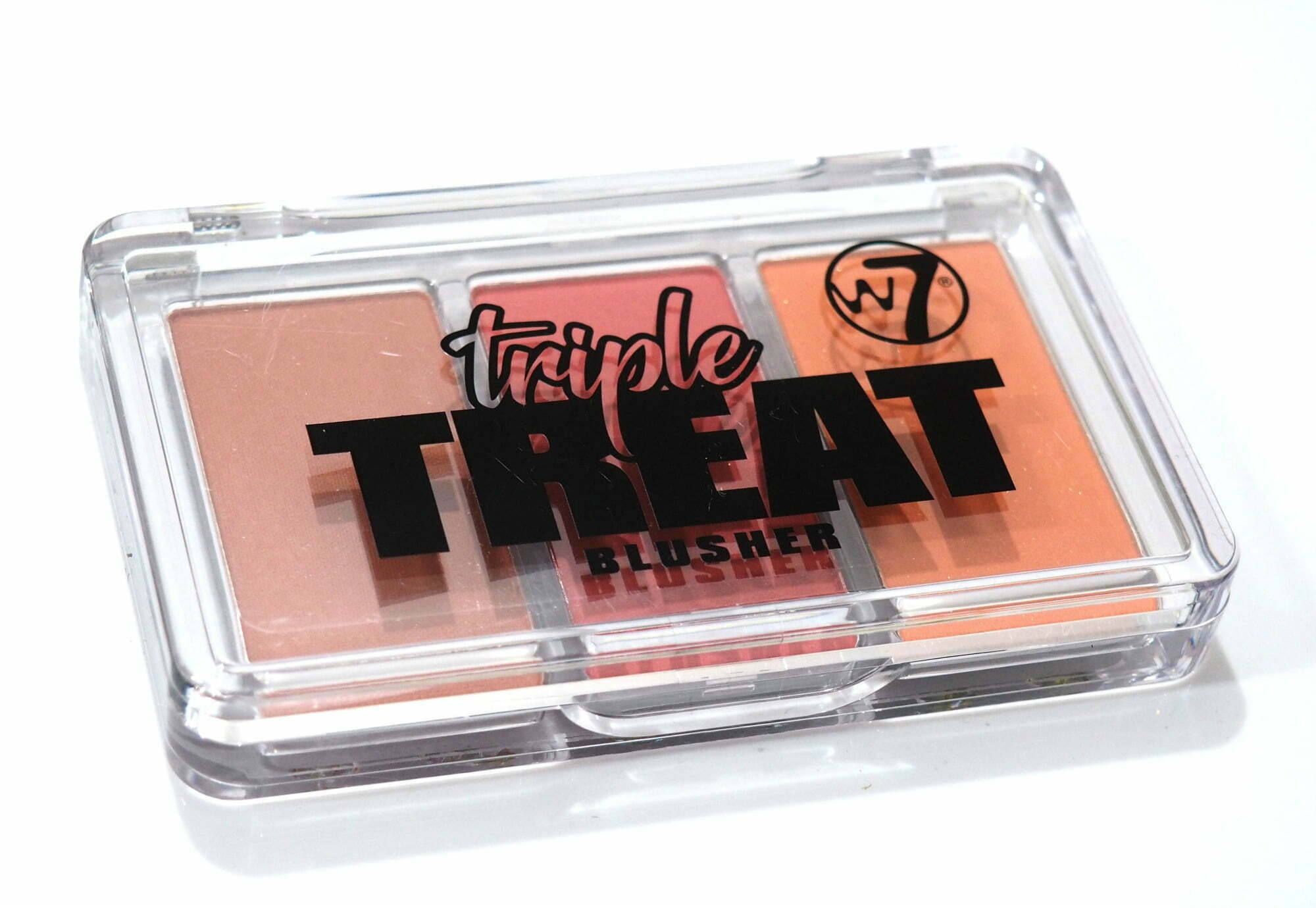 W7 Triple Threat Blusher Palette