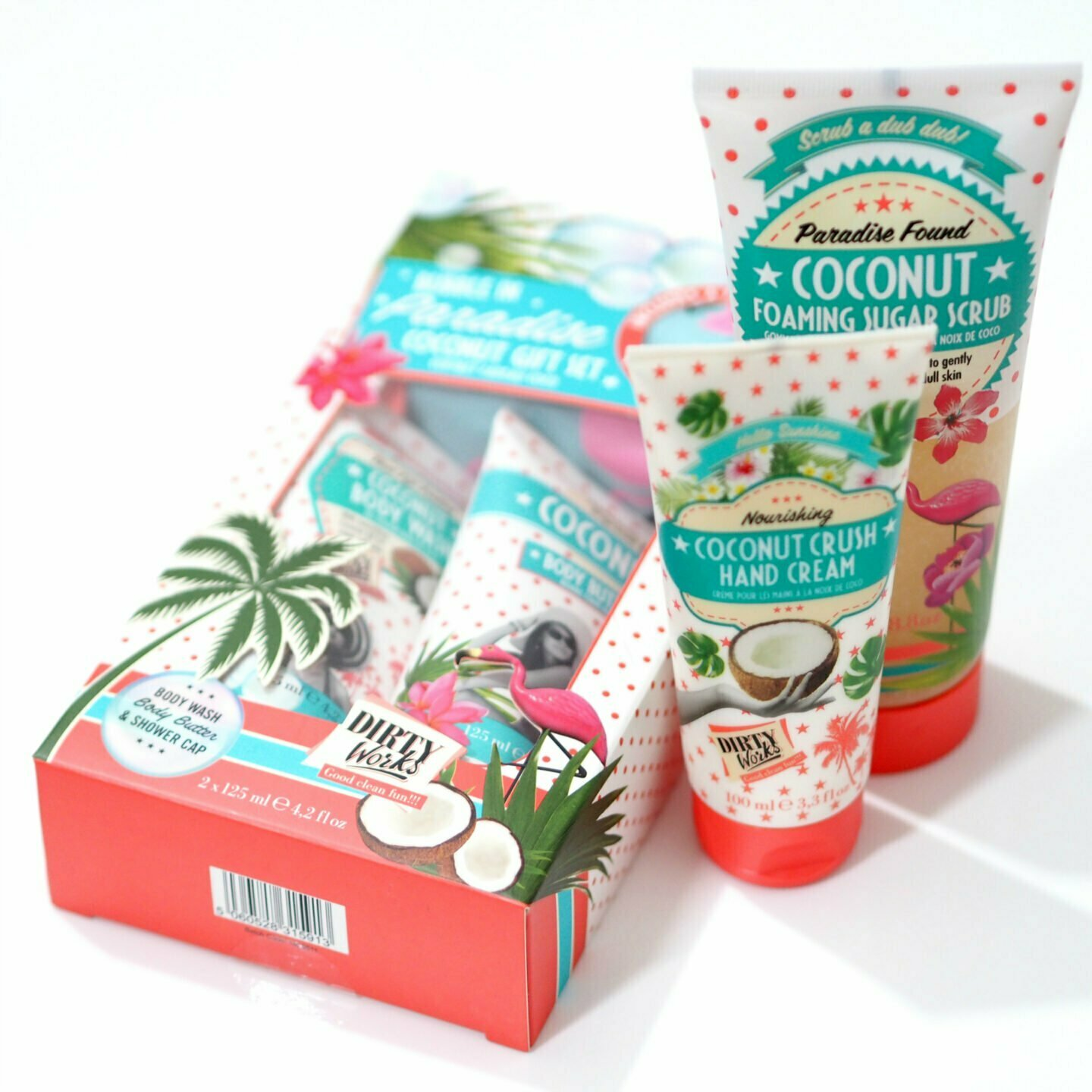 Dirty Works Coconut Collection