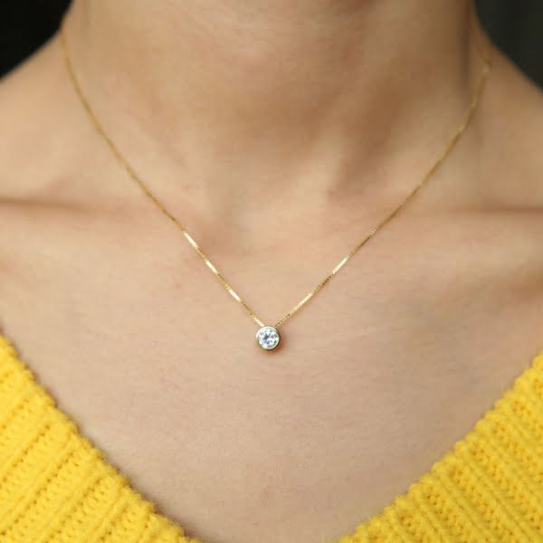 Top Abelini Jewellery Best Selling Diamond Necklaces 2021